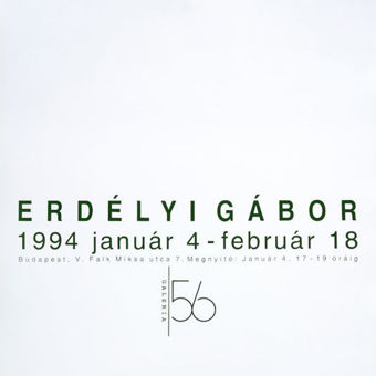 Erdélyi Gábor (kiállítása)