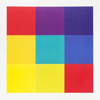 Richard Paul Lohse retrospektív kiállítása