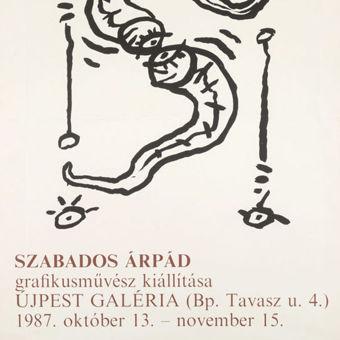 Szabados Árpád grafikusművész kiállítása