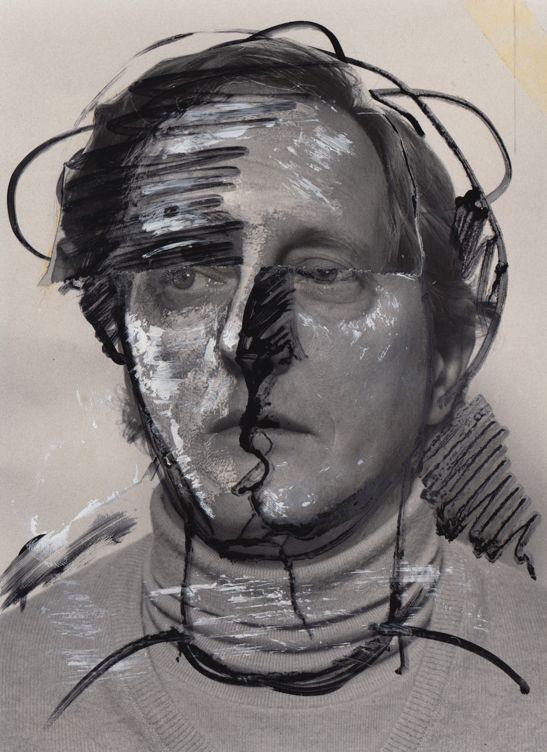 Hencze Tamás: Transzformáció (Hommage a Picasso) 1-4 (1975 körül)
