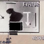 Plakátterv a Bercsényi Kollégium virrasztás című performanszára