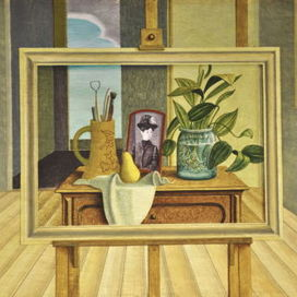 Still life with picture