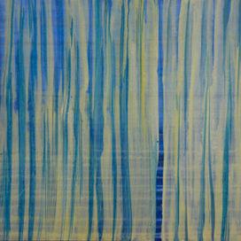 Kék függőleges